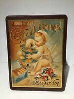 VINTAGE Cookie/Cake Tin Bahlsen - Hannoversche Cakes-Fabrik Hannover B-87 Empty