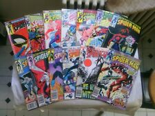 Peter Parker The Spectacular Spider-Man comic book lot!(Marvel,1980s)