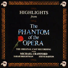 PHANTOM OF THE OPERA HIGHLIGHTS Original London Cast (CD 1987) USA First Edition