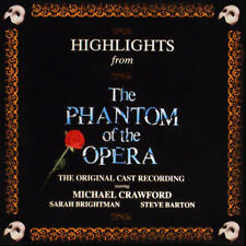 PHANTOM OF THE OPERA HIGHLIGHTS Original London Cast (CD 1987) USA First Edition