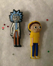 Rick and Morty PVC Shoe Charms fit in your Crocs/Jibbitz