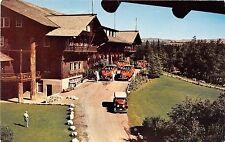 Glacier Park Hotel National Park postcard