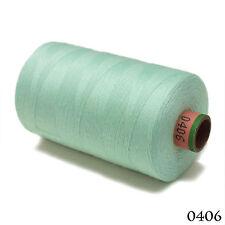 Amann 100% Polyester Core-Spun Sewing Thread Sabac 80 1000M Color 406 Light Blue