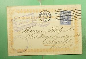 DR WHO 1915 HONDURAS TEGUCIGALPA POSTCARD TO USA  g23433