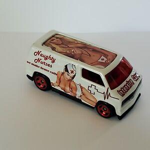 Hot Wheels  NAUGHTY NURSES 1977 Dodge VAN  custom