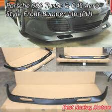 Aero Style Front Bumper Lip (Urethane) Fits 01-05 Porsche 911 Turbo