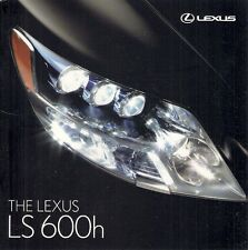 Lexus LS 600h & 600hL Hybrid 2007-09 UK Market Sales Brochure