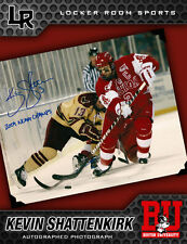 KEVIN SHATTENKIRK SIGNED BOSTON UNIVERSITY 8X10 PHOTO ST. LOUIS BLUES