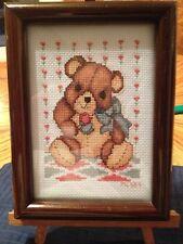 Counted Cross Stitch, Teddy Bear