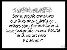 Some People Calligraphy Friendship Print -Great Gift