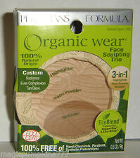 Physicians Formula Organic Wear Face Sculpting Trio 3in1 Powder, Sunkissed #1093