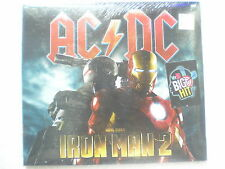 AC/DC AC DC Iron Man 2 CD 2010 shoot to thrill RARE INDIA HOLOGRAM NEW sticker