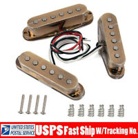 Vintage Staggered AlNiCo V Pickups for Fender Stratocaster Strat Squier Guitars