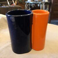 Vaso Vintage In Ceramica Memphis Style Cermac Umbertide Circa 1970