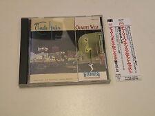 CHARLIE HADEN - QUARTET WEST - HAUNTED HEART - JAPAN CD VERVE 1992 W/OBI -