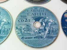cd n°2 du jeu Empire earth 2 PC FR