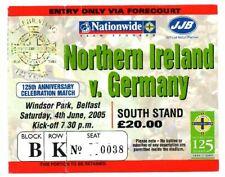 Ticket Northern Ireland - Germany 04.06.2005