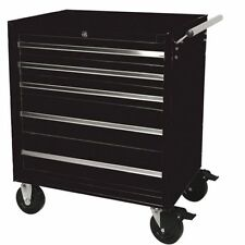 HILKA TOOL TROLLEY 5 DRAWER MOBILE STORAGE CHEST BOX ROLLAWAY CABINET PMT110