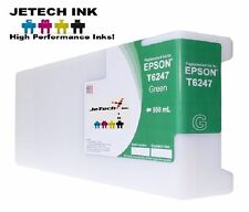 Epson UltraChrome GS6000 Compatible 950ml Single Ink Cartridge (T624700) - Green