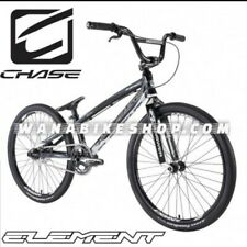 "2021 CHASE ELEMENT PRO CRUISER 24"" Complete BMX Bike Black/White"