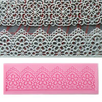 Sculpted Flower Lace Silicone Mold Liquid Silicone Cake DIY Fondant Bakeware