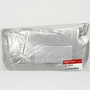 Genuine 852011F010LX Sun Visor Inside Right RH Gray For KIA SPORTAGE 2005-2010