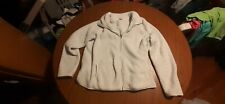 Sonoma Sweatshirt/jacket (XL) White
