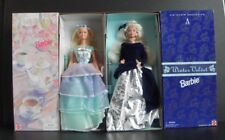 Lot of 2 Avon Limited Edition Barbies ~ Spring Tea Party and Winter Velvet