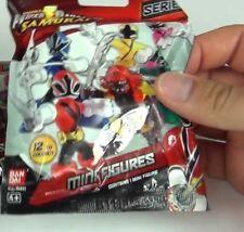 Saban's Power Rangers Samurai series 1 Mini figure SEALED packet |Sentai Ban Dai