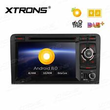 Octa-Core Android 8.0 Audi A3 S3 Car Stereo Sat Nav DAB+ GPS DVD Player Radio