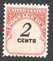 US. J90. 2c, Postage  Due Stamp. Dull Gum.  Mint. NH. 1959