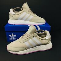 *NEW* Adidas Originals Iniki Boost (Women Size 8.5) Tan Running Sneakers
