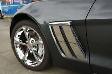 C6 Corvette Grand Sport 2005-2013 Front Fender Trim Plates - Polished