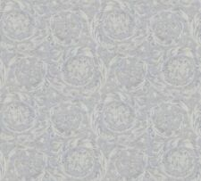 Versace 4 Home Wallpaper 366924 Ornament grau metallic Tapete Vliestapete