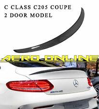 Carbon AM-Style Rear Spoiler for Mercedes C Class C205 Coupe Model C43/C63 AMG
