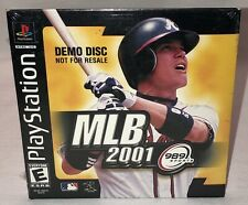 Mlb 2001 ~ Playstation 1 Demo Game.New Factory Sealed!