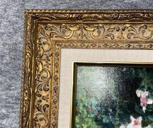 "3.5"" Dark Gold Ornate Museum Antique frame 155GL Picture Frames4art 14x18"