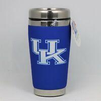 Kentucky Wildcats Mugzie NCAA Stainless Steel 16oz Travel Tumbler Coffee Mug Cup