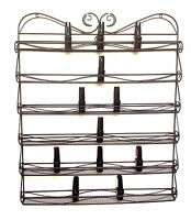 Hottest Metal Wire Nail Polish Display Organizer Wall Rack-Hold 90 to 120 Bottle