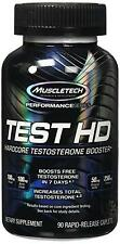 New Muscletech TEST HD, Hardcore Testosterone Booster, 90 Rapid Release Caplets