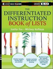 J-B Ed Reach and Teach: The Differentiated Instruction Book of Lists 6 by...