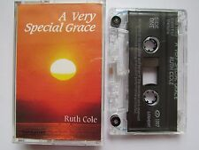 RUTH COLE 'A VERY SPECIAL GRACE' CASSETTE TAPE, 1997 LIONHEART, TESTED