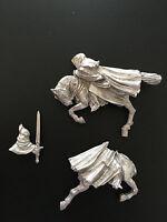 Warhammer Lord of The Rings LOTR - Mounted Ringwraith Pose 2 Metal OOP