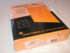 A4 paper: 80gsm 500sheets Premier Fashion - Fluorescent Orange   COLLECTION ONLY