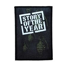 Story Of The Year Grenades Patch Rock Band Music Woven Sew On Applique