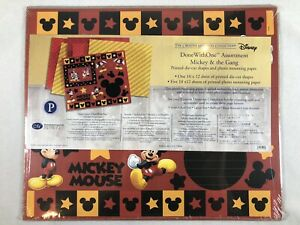 Disney Mickey and the Gang Done With One Assortment Creative Memories Scrapbook