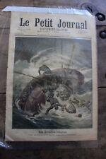 Petit journal dibujada Nº53 1891 - Tormentas Sables OL 'Olonne - El BastióN
