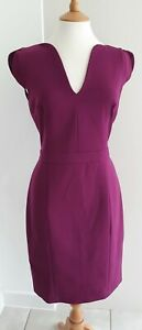 FRENCH CONNECTION - PURPLE SHIFT DRESS - UK14 - BNWOT!
