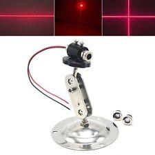 650nm 100mW Dot Line Cross Red Focusable Laser Diode Module + Adjustable Holder