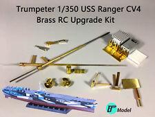 Brass RC Upgrade Kit for Trumpeter 1/350 USS Ranger CV4